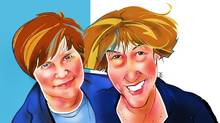 Nancy Vonk and Janet Kestin (Anthony Jenkins for The Globe and Mail)