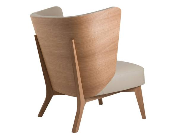 Fifties pop-style furniture, such as Perrouin's slick Kalin lounge chair, is making a comeback.