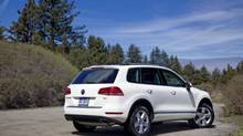 With a starting price of $51,000, Volkswagen seems to think the 2014 Touareg is not a mainstream SUV. (Volkswagen)