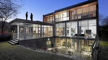 The Mississauga home designed by architects Melana Janzen and John McMinn has an urban vide in a suburban setting. (Shai Gil/Shai Gil)