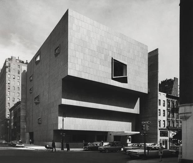 New York's Whitney Museum of American Art, 1966.