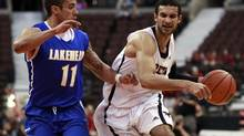 Carleton University Ravens' Philip Scrubb scored 30 points in Wednesday's 95-82 preseason victory over the Wisconsin Badgers. (file photo) (BLAIR GABLE/REUTERS)