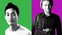 Eric Diep of A Thinking Ape (left); Stewart Butterfield of Tiny Speck (right) (Kris Krug/handout/Kris Krug)