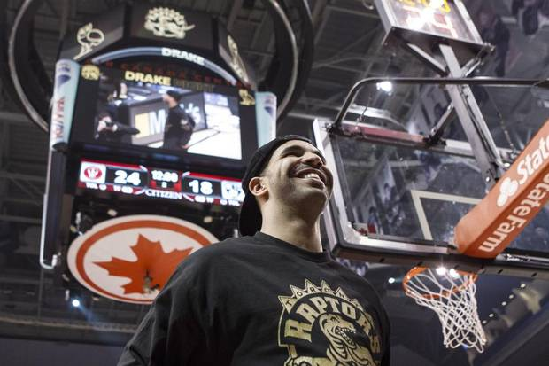 Toronto Raptors Global Brand Ambassador and rapper Drake