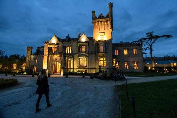 Lough Eske Castle Hotel gives travellers a place to rest while exploring the remote northwestern coast.