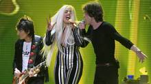 Lady Gaga, centre, is bringing her tour to the Rogers Arena Friday and Saturday. (Carlo Allegri/REUTERS)