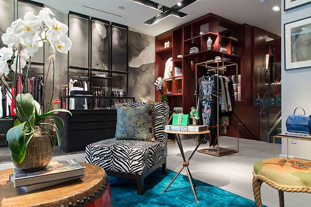 Inside one of the Milli boutiques.