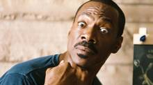 "Eddie Murphy in a scene from ""A Thousand Words."" (Bruce McBroom/AP/Paramount)"