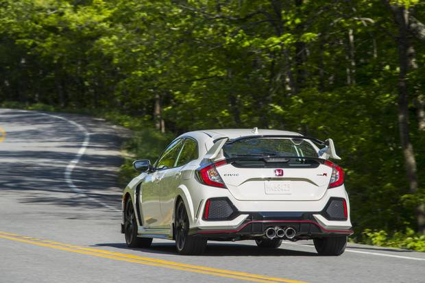 the 2017 Civic Type R will arrive in Canadian showrooms for the first time this summer.