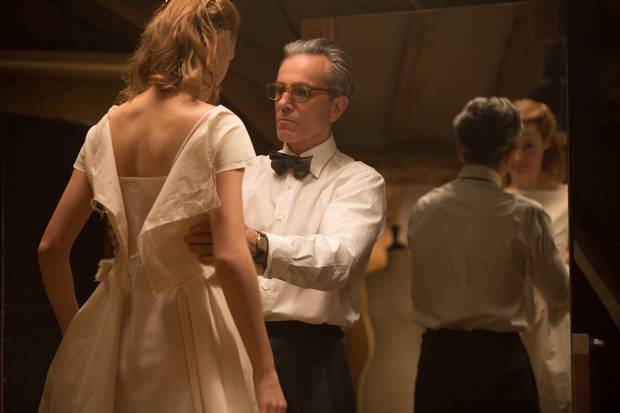 Reynolds Woodcock's (Daniel Day-Lewis) relationship with Alma Elson (Vicky Krieps) in Phantom Thread begins over an obnoxiously large and overly-specific order that includes Welsh rarebit with poached egg, bacon, scones, jam (not strawberry), tea, cream and sausages to boot, as he tries to assert his dominance over her.