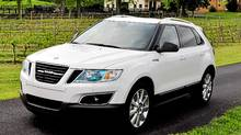 2012 Saab 9-4X (Michael Bettencourt for The Globe and Mail)