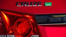 2014 Chevrolet Cruze diesel (General Motors)