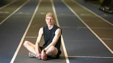Andrew Towle, 19, has been deemed ineligible to play soccer by Ontario's high-school athletic watchdog because he has stayed too long in high school. Mr. Towle is autistic. (Dave Chan for The Globe and Mail)