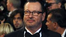 "Director Lars Von Trier arrives on the red carpet for the screening of the film ""Melancholia"" in competition at the 64th Cannes Film Festival, in this May 18, 2011 file photo. (JEAN-PAUL PELISSIER/Reuters)"