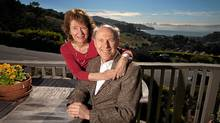 Psychologists Arthur and Elaine Aron relax at home on Feb. 7, 2011 in Tiburon, California. (David Paul Morris/David Paul Morris)