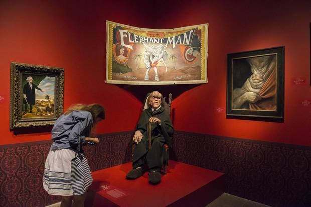 The immersive exhibition contains works from many of del Toro's films, as well as material that influenced his creative process.