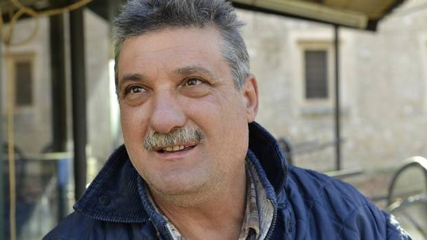 Mario Jacozzilli, owner of a butcher shop in Norcia.