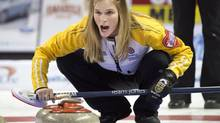 Manitoba skip Jennifer Jones (Ryan Remiorz/THE CANADIAN PRESS)