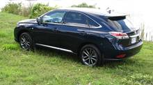 2013 Lexus RX 350 F-Sport (Bob English for The Globe and Mail)