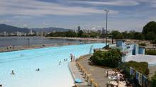 Kitsilano Pool is the longest salt water pool in North America, with lanes that stretch 137 metres. (Kim Stallknecht)