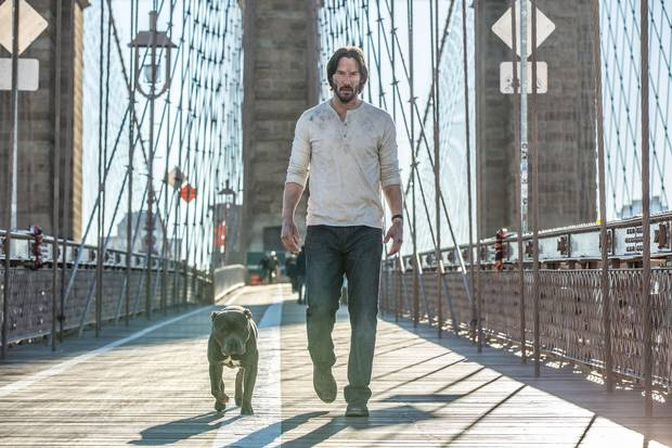 Keanu Reeves in John Wick: Chapter 2.