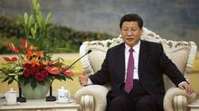 Xi Jinping, currently China's Vice-President, hasn't been seen since Sept. 1 – notable in a country where the main evening newscast on state-run CCTV opens each night with an eye-glazing description of the activities of the Communist Party leaders. (HOW HWEE YOUNG/REUTERS)
