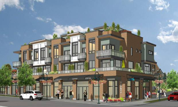 A rendering for the proposed development at West 33rd Avenue and MacKenzie Street.