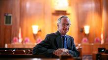 Mr. Justice Ian Binnie has landed a high-profile appointment in New Zealand to consider the case of David Bain. (Dave Chan for The Globe and Mail)