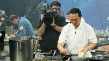 Canadian chef Susur Lee on the Food Network's Iron Chef America. A Canadian version of the U.S. reality show called Top Chef is coming to Food Network Canada.