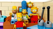 Mmm, The Simpsons and Lego, together at last.