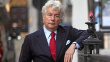 Ken Follett photographed in London this month. (Randy Quan/The Globe and Mail)