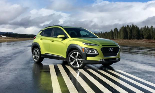 The 2018 Hyundai Kona.