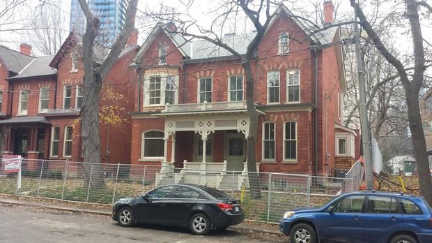 14 and 16 Glen Rd. after restoration.