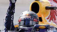 F1 champ Sebastian Vettel, who finished third at the Canadian Grand Prix last weekend in Montreal, is comfortable in high-speed situations that are beyond the tolerance of the average person. (JACQUES BOISSINOT/THE CANADIAN PRESS)