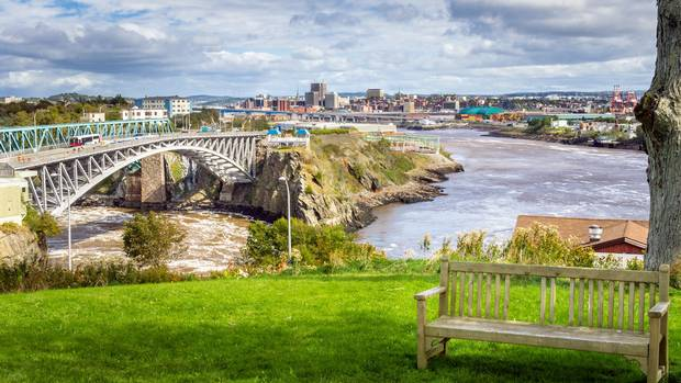 Saint John, New Brunswick.