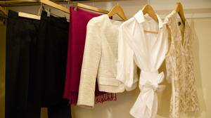 These clothes can be mixed and matched to create several outfits.
