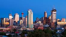 The skyline of downtown Calgary. (Chris Bolin for The Globe and Mail/Chris Bolin for The Globe and Mail)