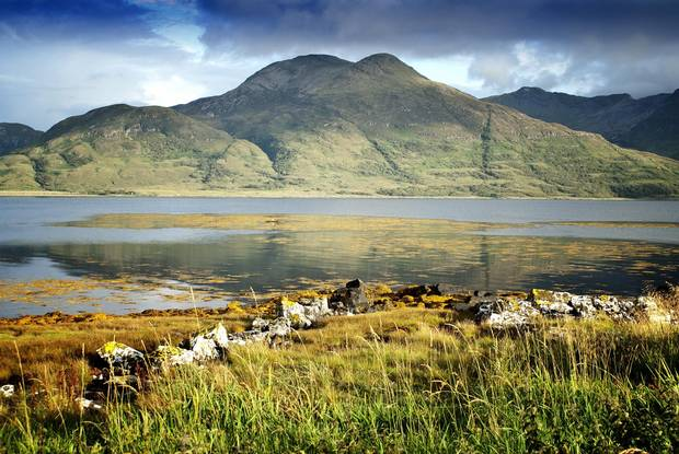 Loch Na Keal on the Isle of Mull.