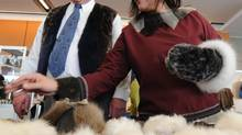 Health Minister Leona Aglukkaq, right, will represent Canada on the Arctic Council. (Sean Kilpatrick/THE CANADIAN PRESS)