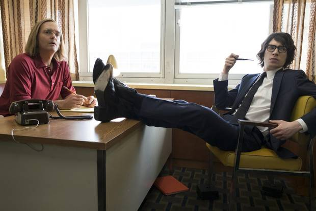 Will Forte and Domhnall Gleeson in A Futile And Stupid Gesture..