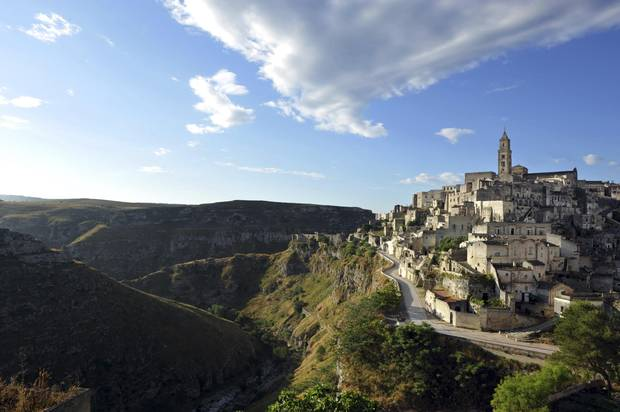 In the words of UNESCO, Matera's sassi represent the most outstanding, intact example of a cave-dwelling settlement in the Mediterranean.