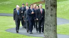 G8 leaders at the Deerhurst Resort in Huntsville, Ont. (Kevin Van Paassen/Kevin Van Paassen/The Globe and)