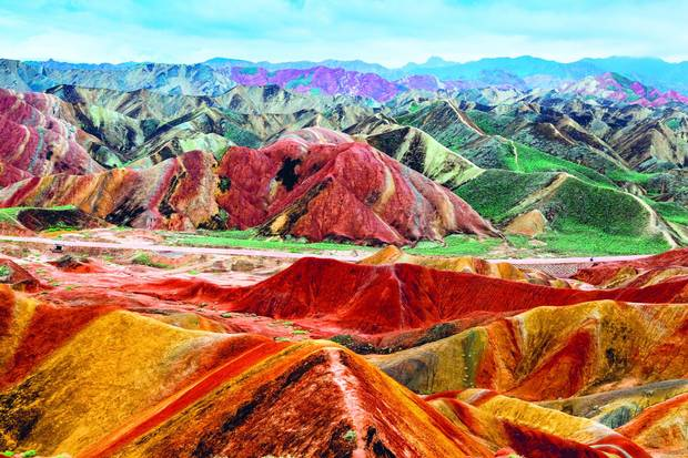 Zhangye Danxiá National Geopark – Zhangye, China