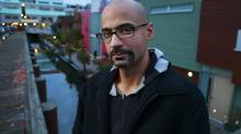 Junot Diaz at Vancouver's Granville Island. The writer xxx VANCOUVER, BC: OCTOBER 17, 2012 - Author Junot Diaz poses for a photo on Granville Island in Vancouver, B.C. October 17, 2012. Jeff Vinnick-The Globe and Mail (Jeff Vinnick/The Globe and Mail)