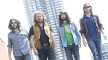 Members of Saskatoon based rock band Sheepdog are photographed in Toronto, Ont. June 20, 2011. (Kevin Van Paassen / The Globe and Mail/Kevin Van Paassen / The Globe and Mail)