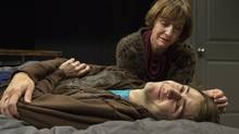 Susan Coyne and Colin Mercer in The Valley at Tarragon Theatre. (Cylla von Tiedemann)