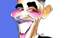 Barack Obama (Anthony Jenkins/The Globe and Mail)