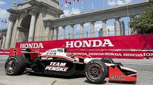 The Toronto Indy course makes use of the CNE grounds and city streets. (FRANK GUNN/Frank Gunn/The Canadian Press)