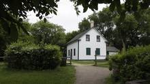 WINNIPEG, MANITOBA - June 11, 2012 - Riel House in Winnipeg is scheduled to closed due to federal budget cuts. Photographed Monday, June 11, 2012. (JOHN WOODS FOR THE GLOBE AND MAIL)