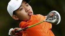 Amateur Guan Tianlang of China (MARK BLINCH/REUTERS)